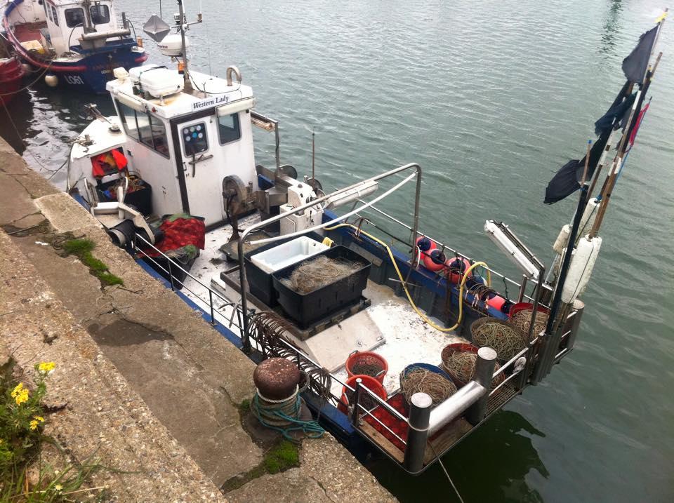 Wood Marine Workboats - Western Lady